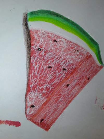 Watermelon, hmmm yummy:) | NEF_katip | Digital Drawing | PENUP