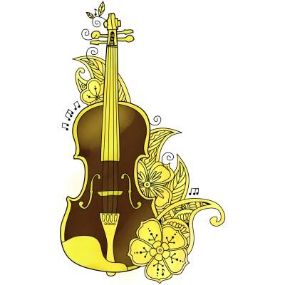 황금꽃에서 만들어진 황금꽃 바이올렛 | narsha | Digital Drawing | PENUP