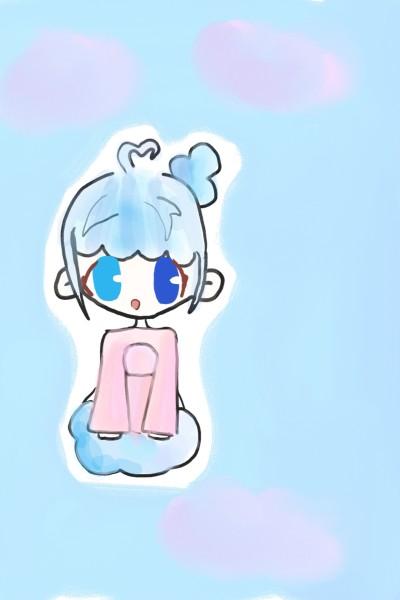 꽃구름팀 쓰레기에요(?)(으아앜 화질)   _Mintcho   Digital Drawing   PENUP