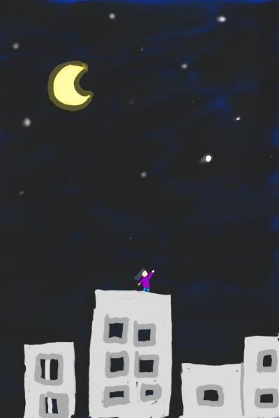 달밤   diamondqueenV   Digital Drawing   PENUP