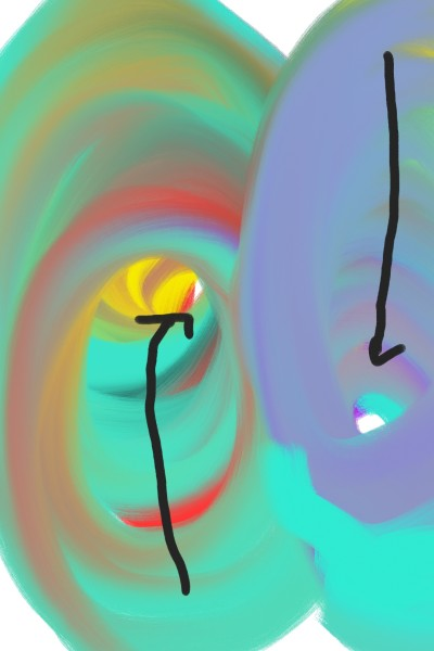 Two tunnels of doom   A.K.G_INDIA   Digital Drawing   PENUP