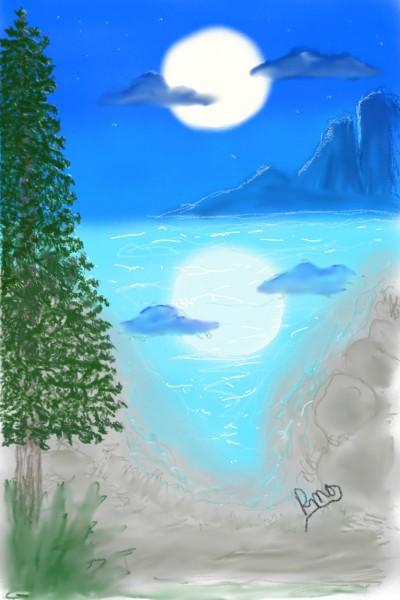 Landscape Digital Drawing   Rhonda   PENUP