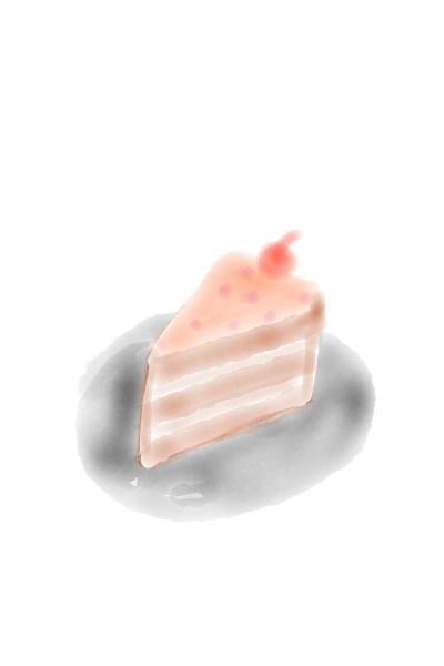 분홍빛 케이크 Cake | jajaja. | Digital Drawing | PENUP
