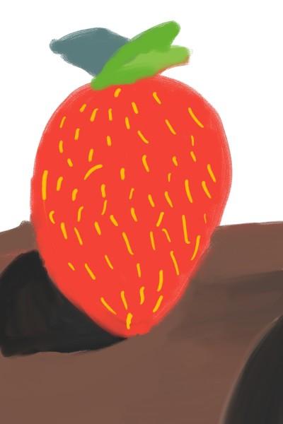 Strawberry Yum-up | Calistha_A. | Digital Drawing | PENUP