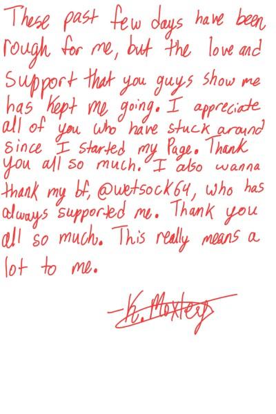A note of appreciation  | KiraMoxley | Digital Drawing | PENUP