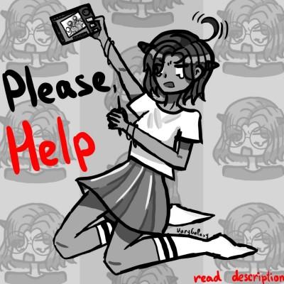 Please, help! | MaryGalaxy | Digital Drawing | PENUP