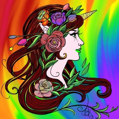 Unicorn Princess   BeanaKing13   Digital Drawing   PENUP