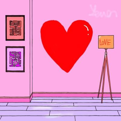 A beautiful heart artwork | RTBLW | Digital Drawing | PENUP