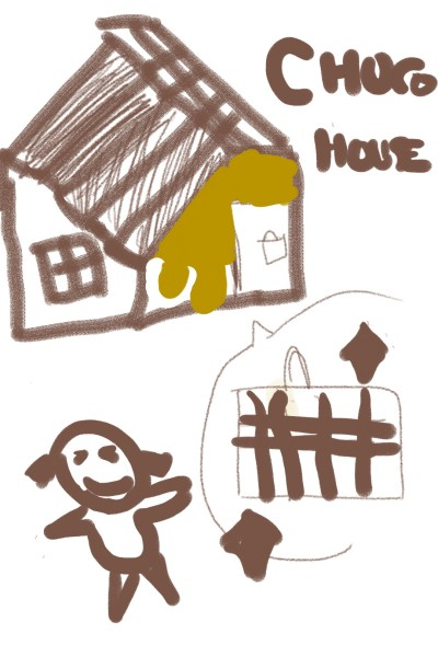 I have a choco house in USA | Brian | Digital Drawing | PENUP