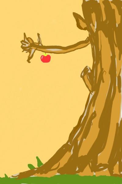 The Last Apple | Hilu_gallery | Digital Drawing | PENUP
