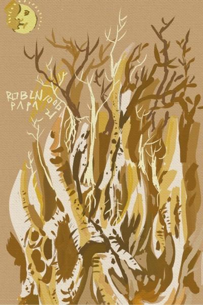 Brown Night : Forest   RobinPAPA   Digital Drawing   PENUP