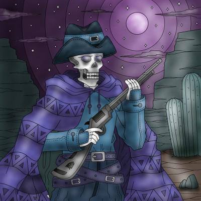 Skull | Monica.Baumann | Digital Drawing | PENUP