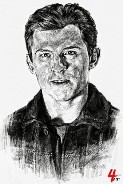☆[YouTube] 'Spider Man 노 웨이 홈' Tom Holland   4ocketart   Digital Drawing   PENUP
