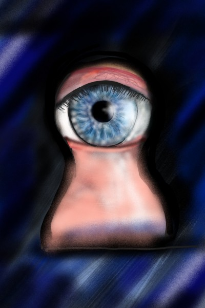 CHALLENGE  by OmrGhabban ( eyes) | Barbra | Digital Drawing | PENUP