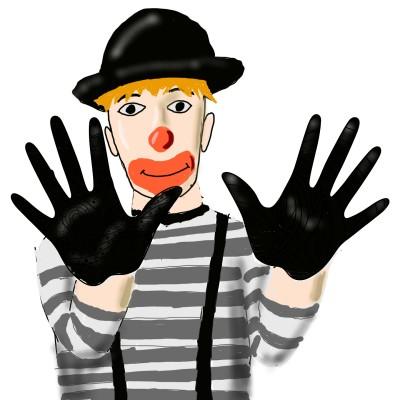 Street Clown  | OmrGhabban | Digital Drawing | PENUP