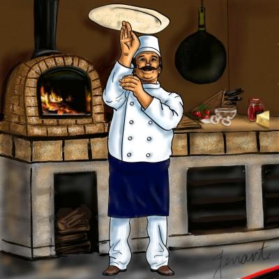 Wood Fired Pizza | jenart | Digital Drawing | PENUP