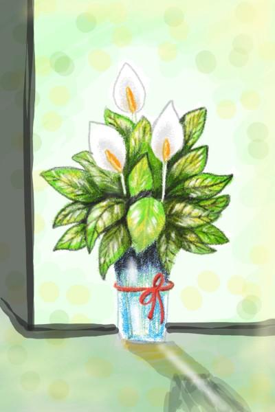 Flowers love ♡ | Sylvia | Digital Drawing | PENUP