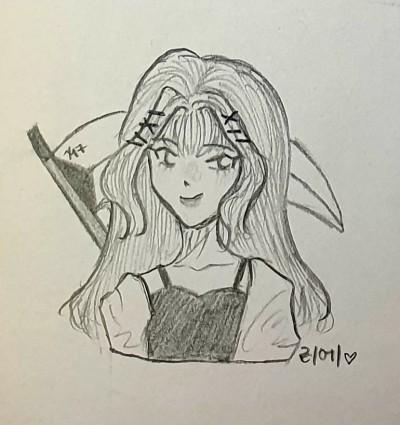 리에 | xy_17 | Digital Drawing | PENUP