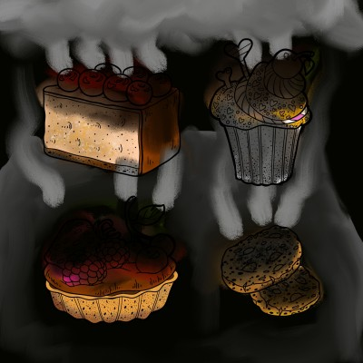 burn sweets | J-O-C | Digital Drawing | PENUP