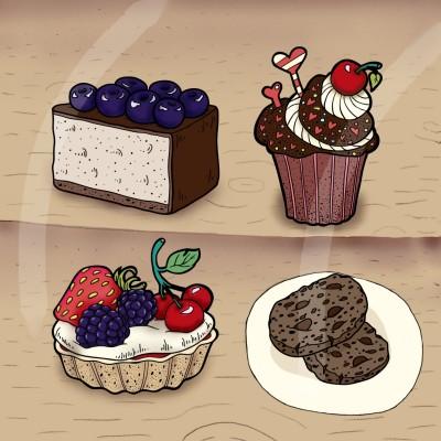 Bakery window  | 4ever-2 | Digital Drawing | PENUP