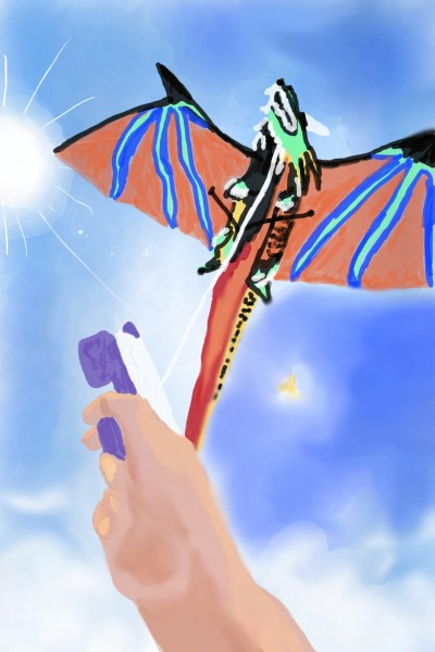Dragon Kite for Branka   Natasha   Digital Drawing   PENUP