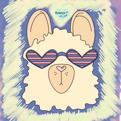 handsome lama :P  | Hossniye | Digital Drawing | PENUP