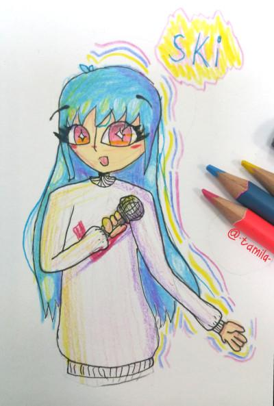 Character Digital Drawing   -Tamila-   PENUP