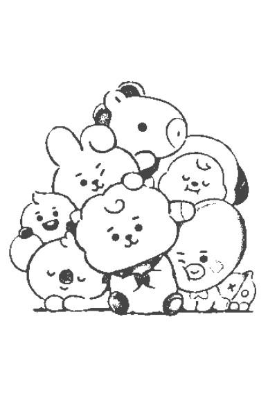 Bt21♡   Bangtan.boys   Digital Drawing   PENUP