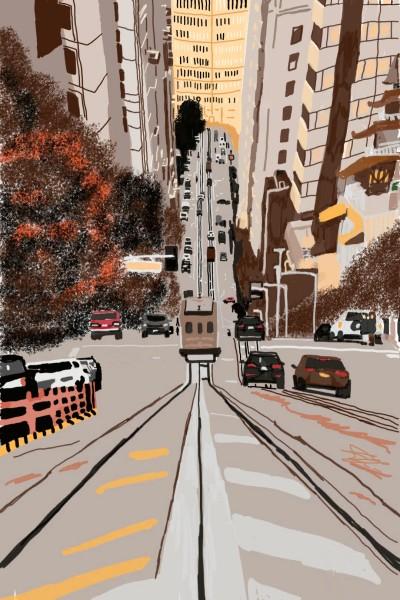 Vehicles Digital Drawing | Natasha | PENUP