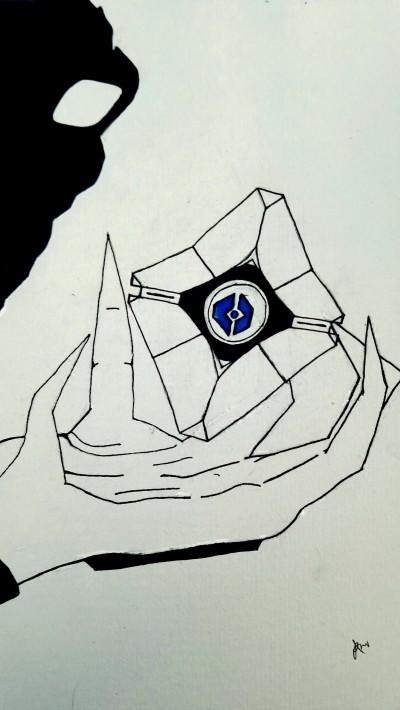 Inktober - Ghost | ImpulsivePhotos | Digital Drawing | PENUP