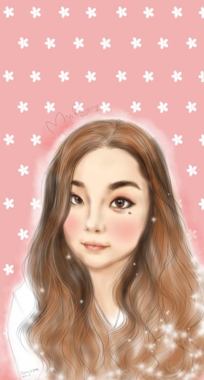 초상화 | Iness_j.y_park | Digital Drawing | PENUP