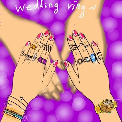 결혼반지~ | ONE | Digital Drawing | PENUP