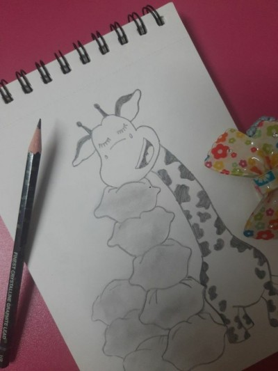 Giraffe (for more follow me on Pinterest) | Little_Arty | Digital Drawing | PENUP