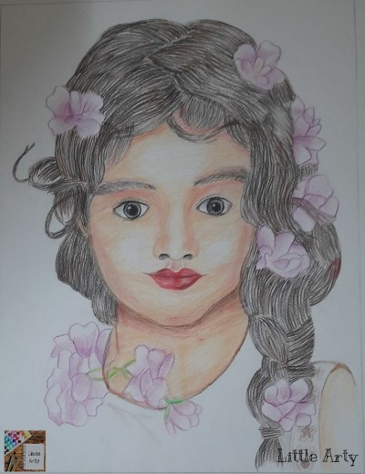 Smile!    Little_Arty   Digital Drawing   PENUP