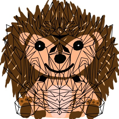 hedgehog  | J-O-C | Digital Drawing | PENUP