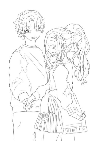 i added zenitsu TwT   Coffee_artz   Digital Drawing   PENUP