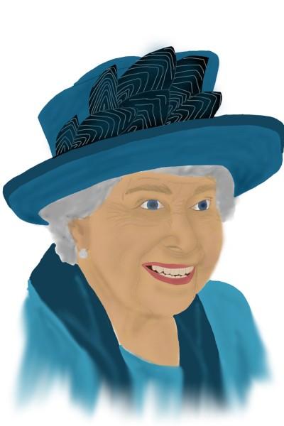 Happy Queen | MaryJen | Digital Drawing | PENUP