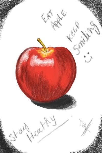 Stay healthy keep smiling  | Ma-skies_art | Digital Drawing | PENUP