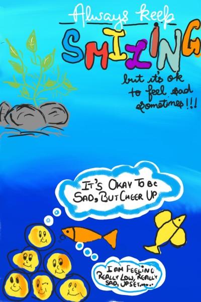 sad?? See this and cheer up | bhuvi | Digital Drawing | PENUP