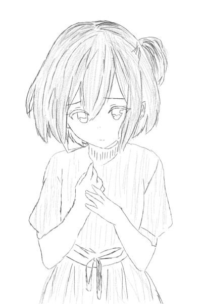 cute anime girl | k_ppaartz | Digital Drawing | PENUP