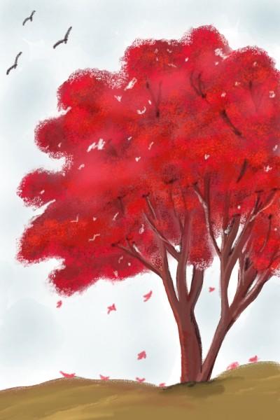 Autumn vibes  | Sylvia | Digital Drawing | PENUP