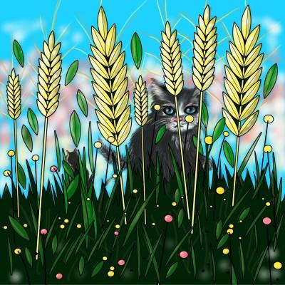 The Barley Field | jenart | Digital Drawing | PENUP