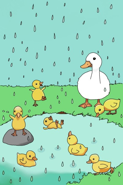 The Duck Pond   FoxDoodles   Digital Drawing   PENUP
