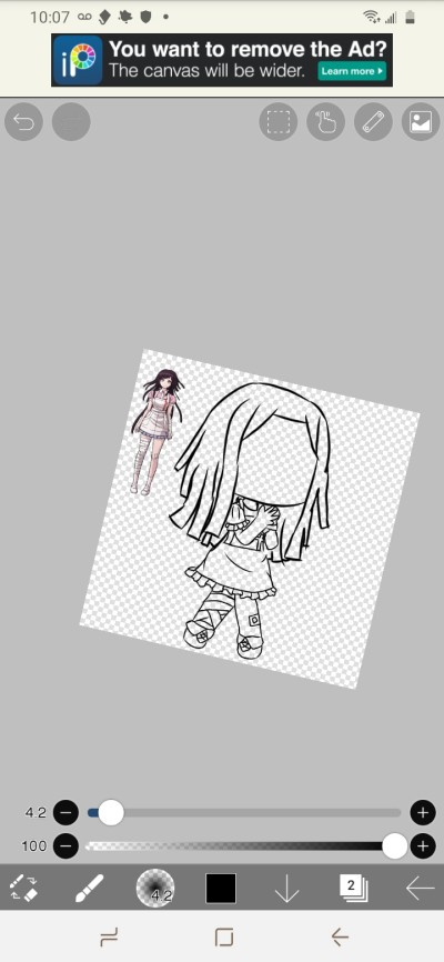 w.i.p for The Mikan edit | ItzBxbbleTea_.x | Digital Drawing | PENUP