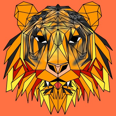 tiger | A.M | Digital Drawing | PENUP