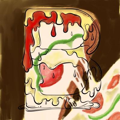cheesy pizza | J-O-C | Digital Drawing | PENUP
