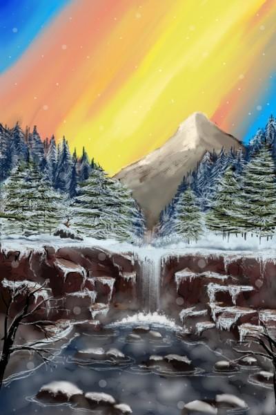 Hot Springs Valley in Cold Winter | Dex.R | Digital Drawing | PENUP