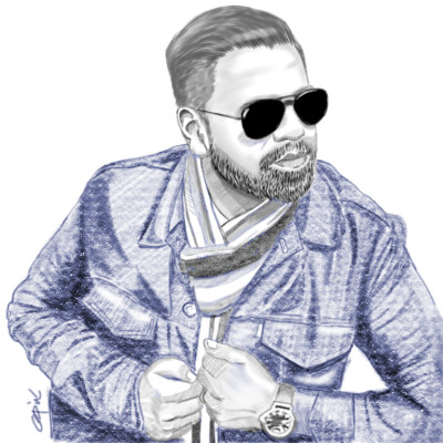 Man portrait Sketches | opit | Digital Drawing | PENUP