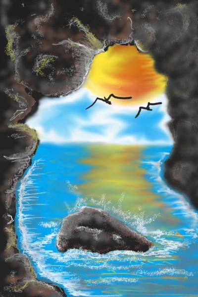 nature's doorway  | jeremy | Digital Drawing | PENUP