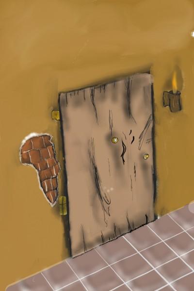 The old Door | TONY | Digital Drawing | PENUP